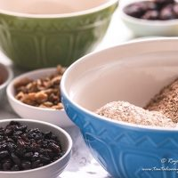 Raisin and bran refrigerator muffin ingredients