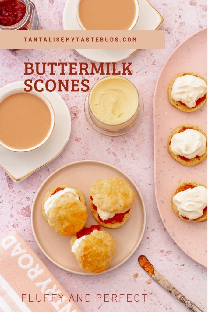 Fluffy Perfect Buttermilk scones pin 2