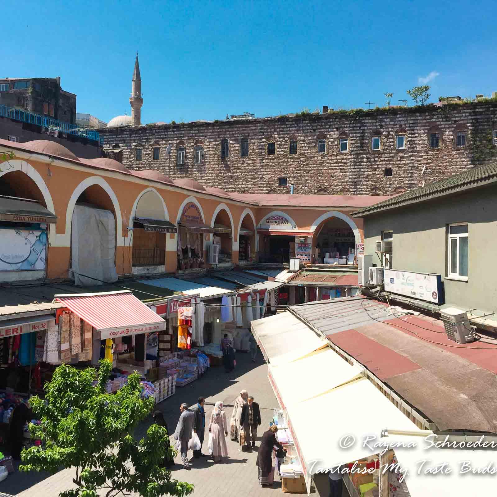 Istanbul Backstreets of the Bazaar Quarter