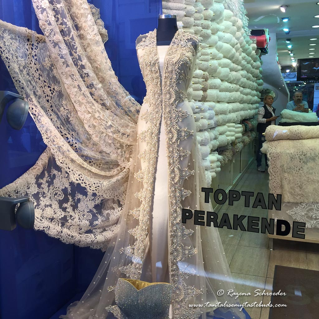 Textile shop Istanbul