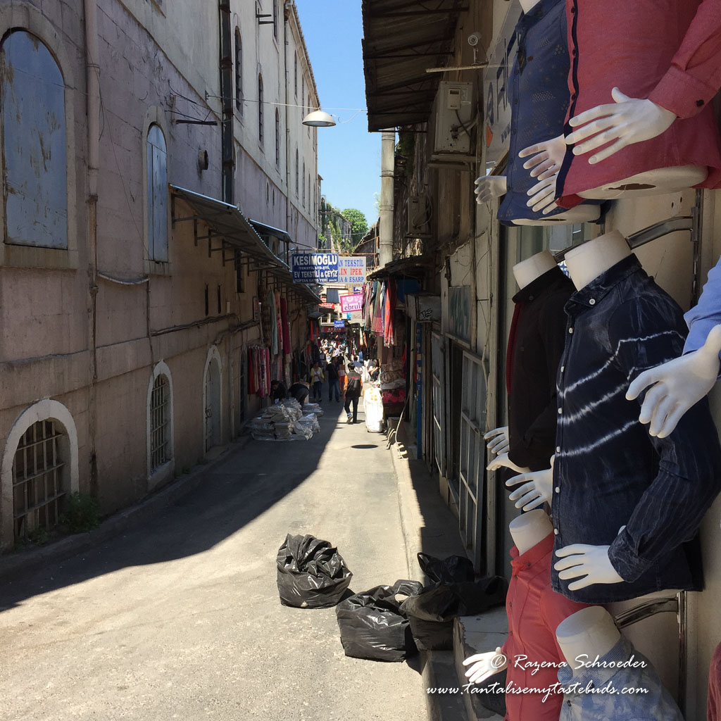 Backstreets of the Bazaar quarter Istanbul