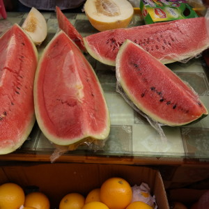 Fresh cut fruits