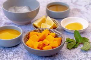 Mango Orange Aguas Frescas ingredients