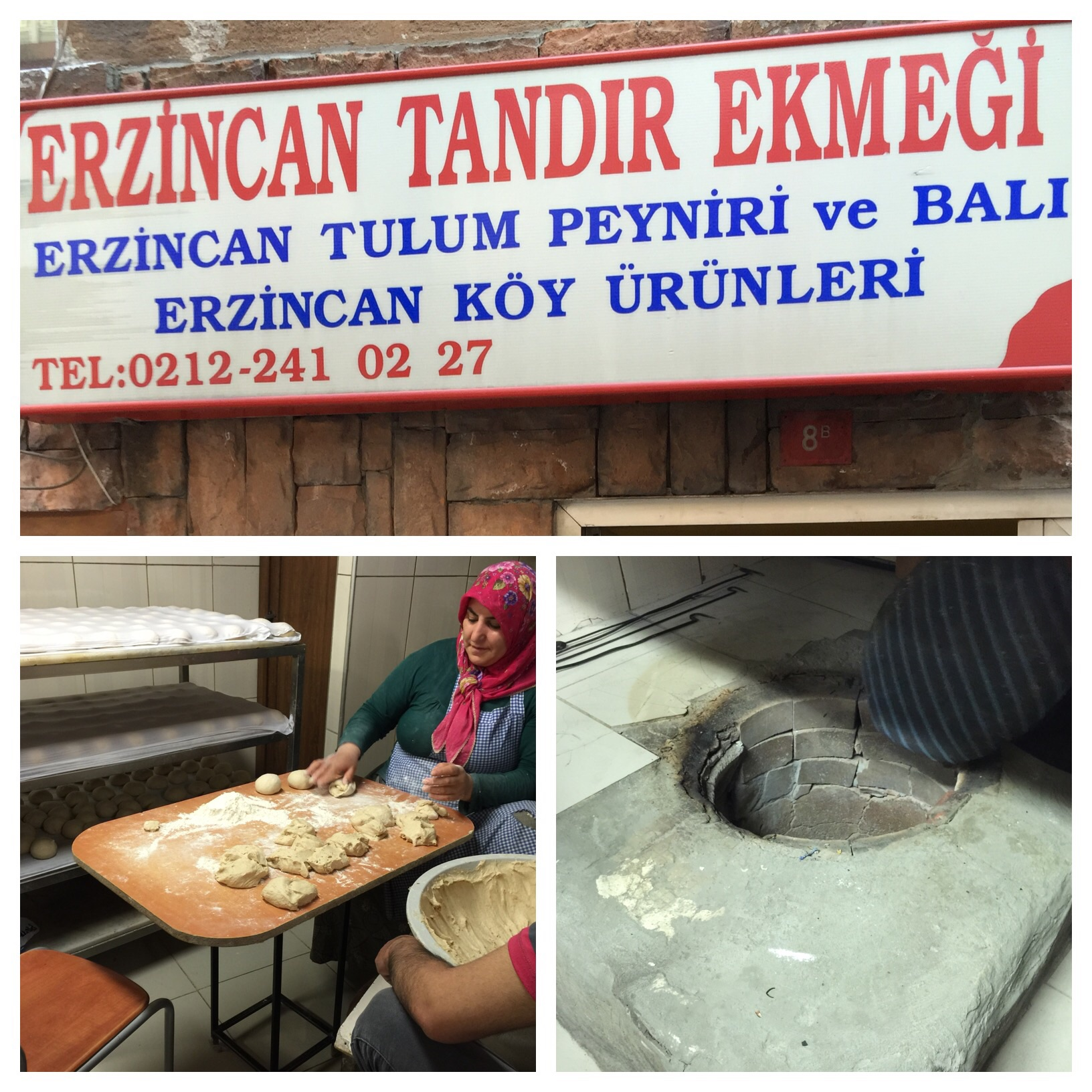 Fresh artisanal tandir bread
