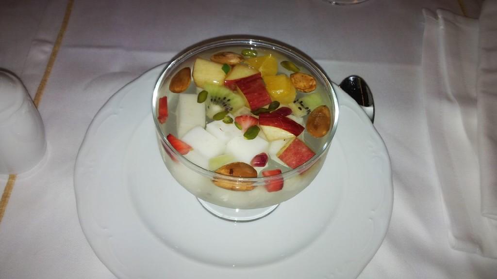 Helatiye - Pine mastic infused dessert