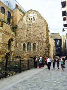 Winchester Palace ruin