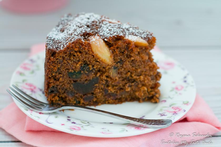 Dark Boiled Fruit Cake Recipe