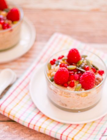 Overnight dairy free muesli and oats