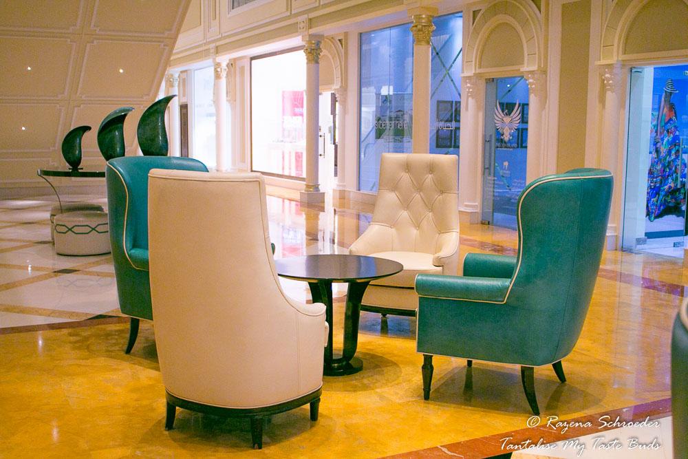 Waldorf Astoria Ras al Khaimah lounge area