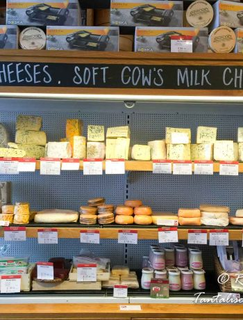 East End Food Tour - Cheesemonger display