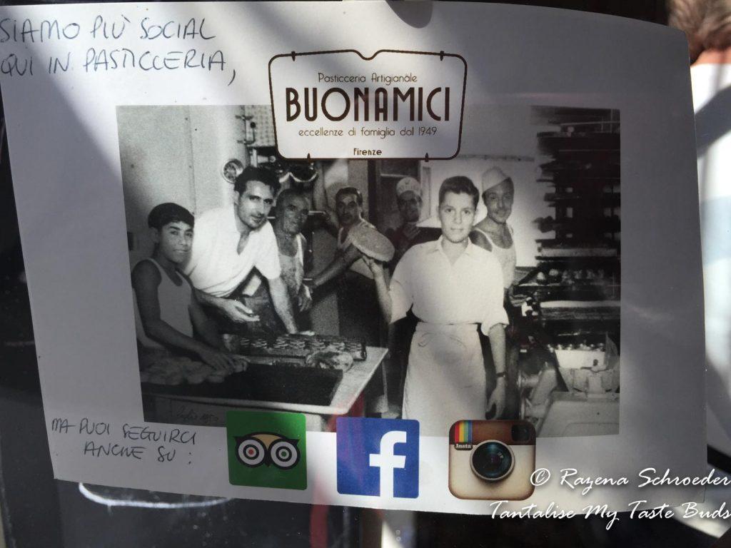 Buonamici Pasticceria on Florence food tour