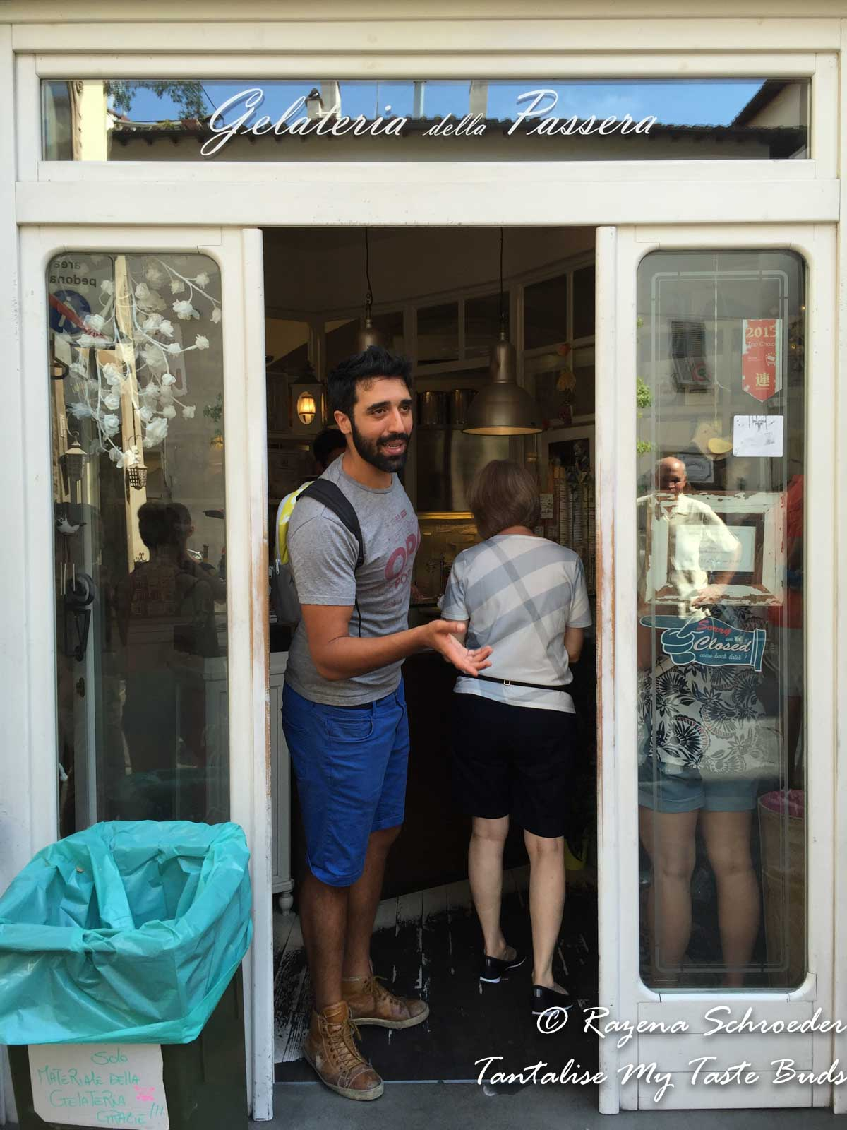 Gelateria della Passera on Florence food tour