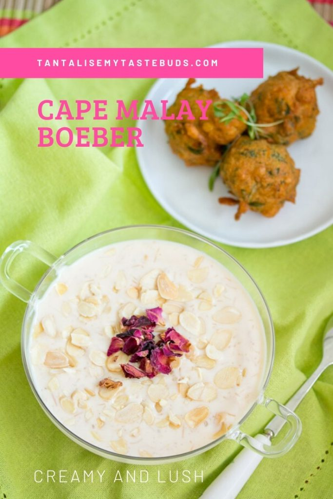 Creamy Cape Malay Boeber