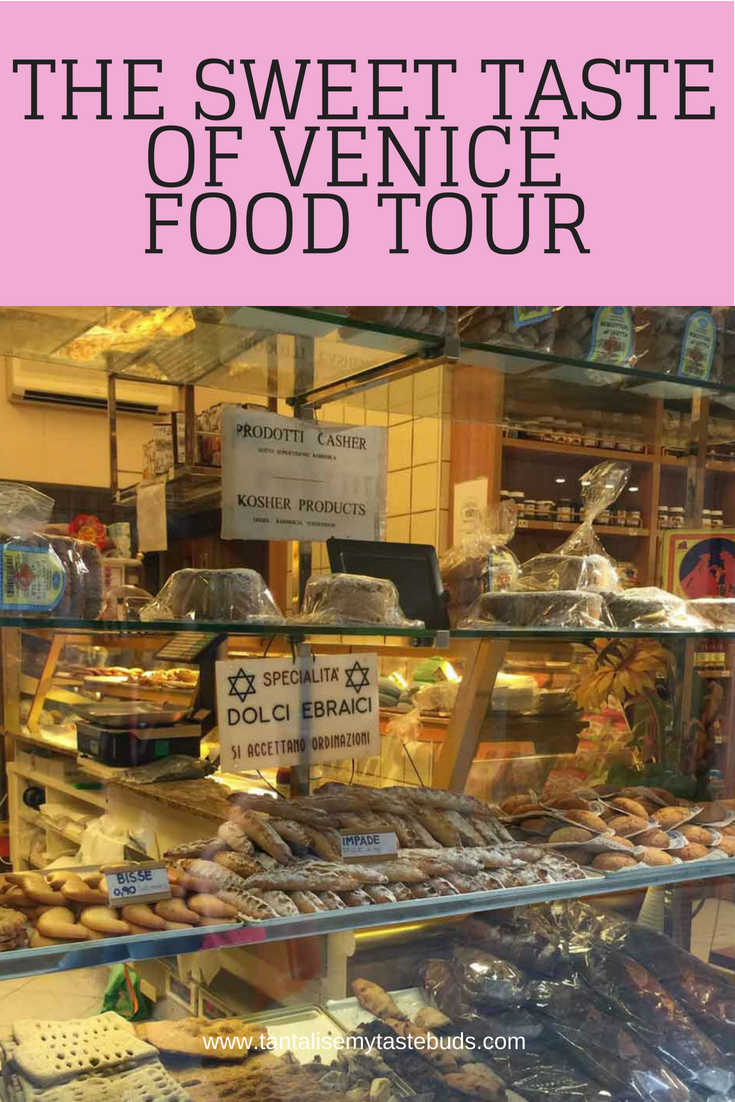 Jewish bakery on the Sweet taste of Venice food tour