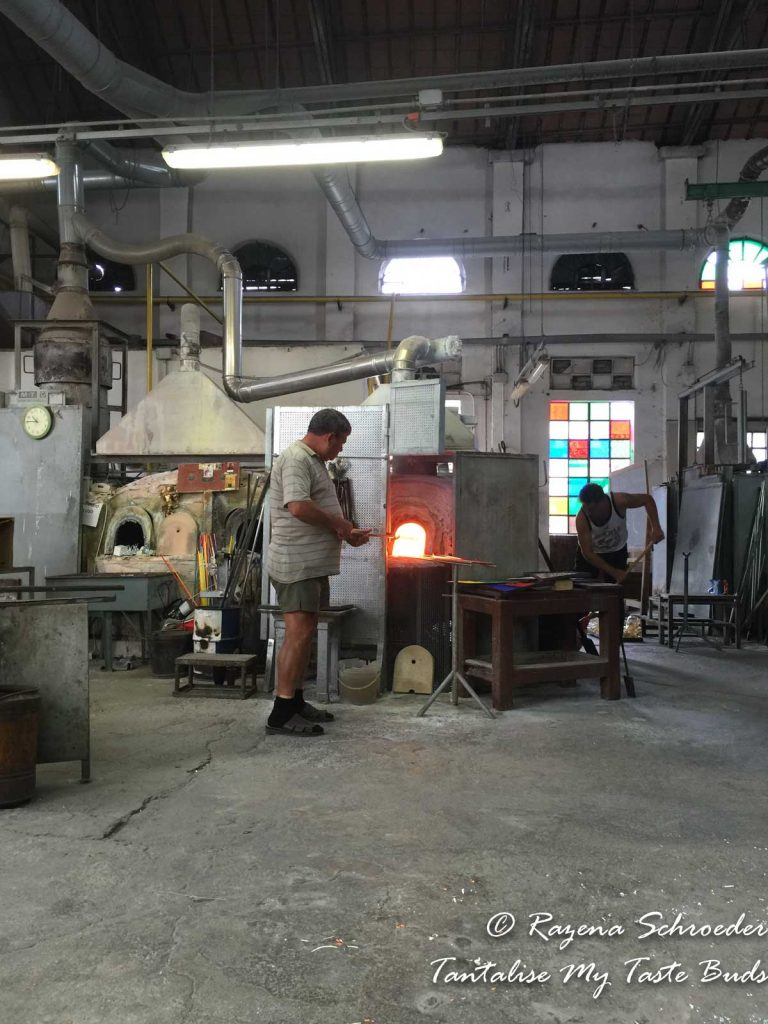 Murano glass studio