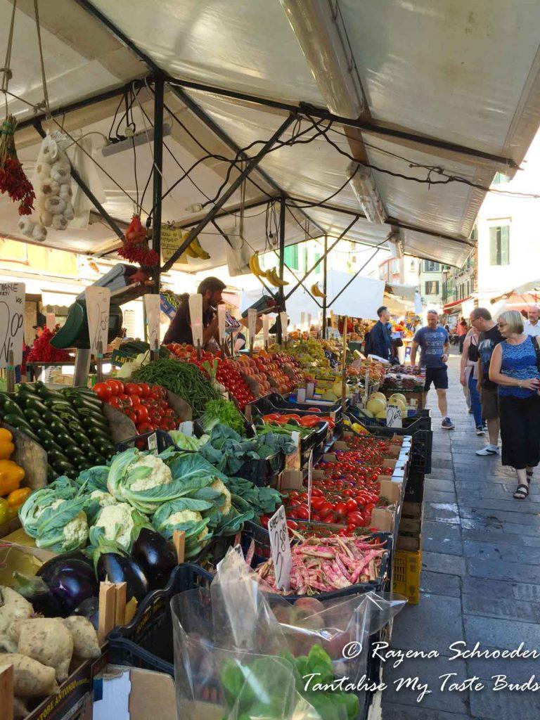 Venice - Fresh produce market