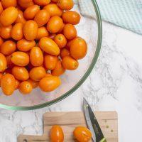 Slicing kumquats