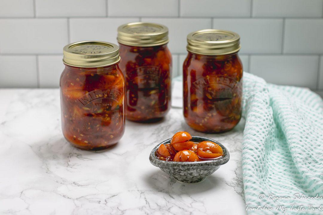 Spicy Kumquat Pickle Achar