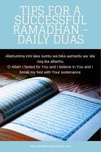 Daily Ramadhan Dua 1
