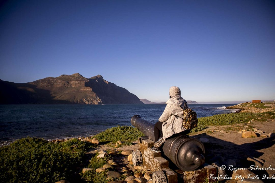Hout Bay Harbour - Girl staring out to sea