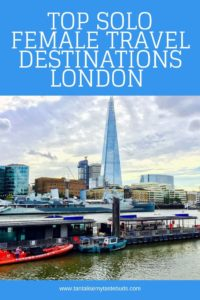 Top Solo Female Travel Destinations - London Shard