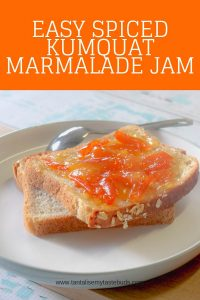 Oat Bread with Easy Spiced Kumquat Marmalade Jam