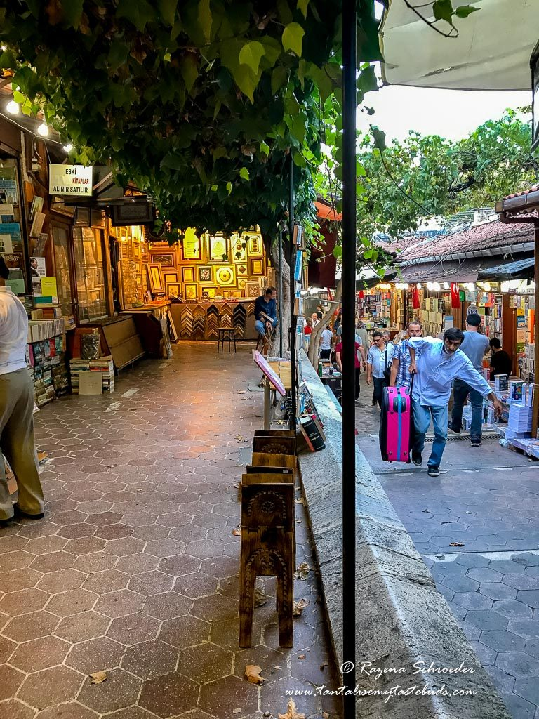 Grand Bazaar outside markets