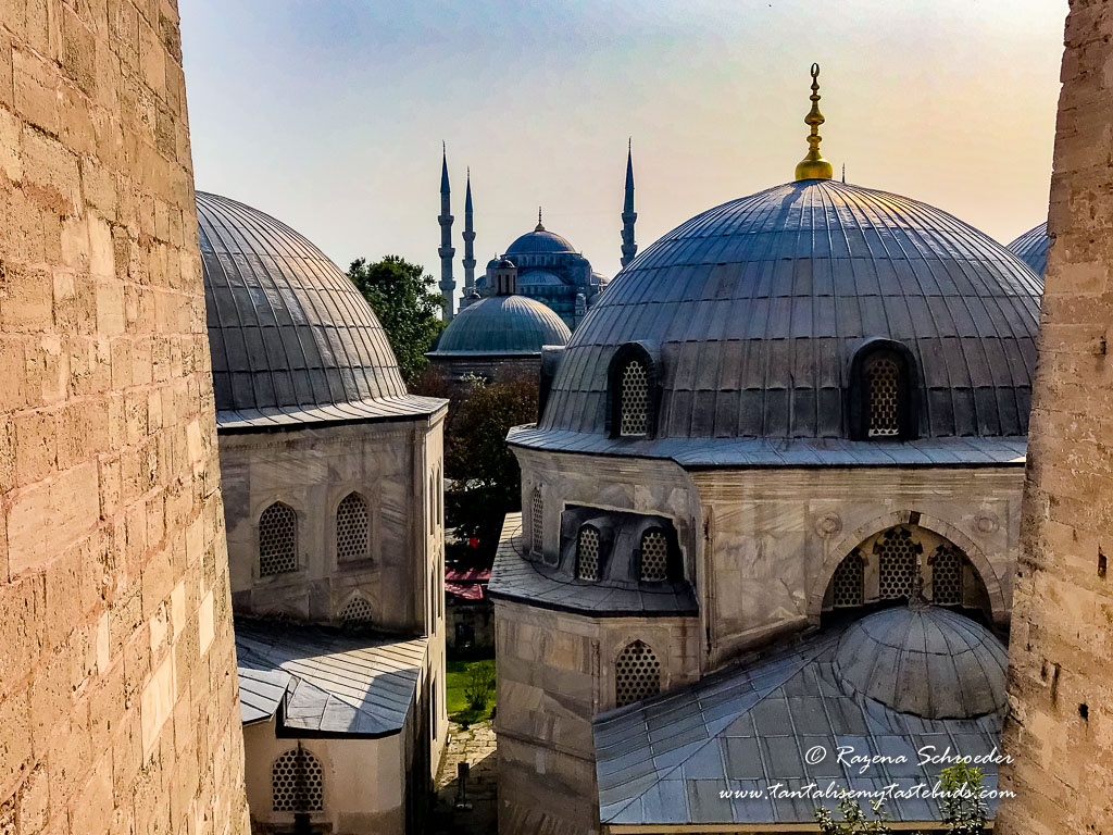 View from Hagia Sofia