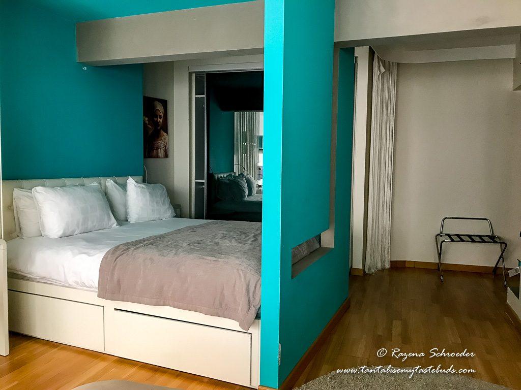 Istanbul Nuru Zaya Suites bedroom