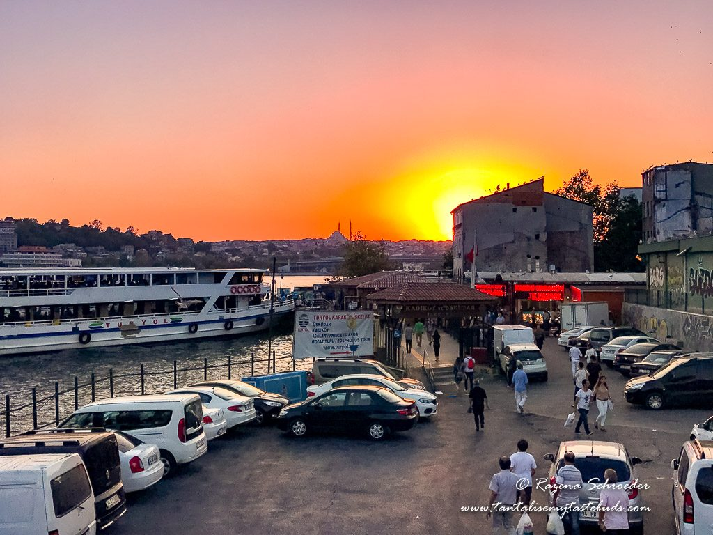 Sunset at Karaköy