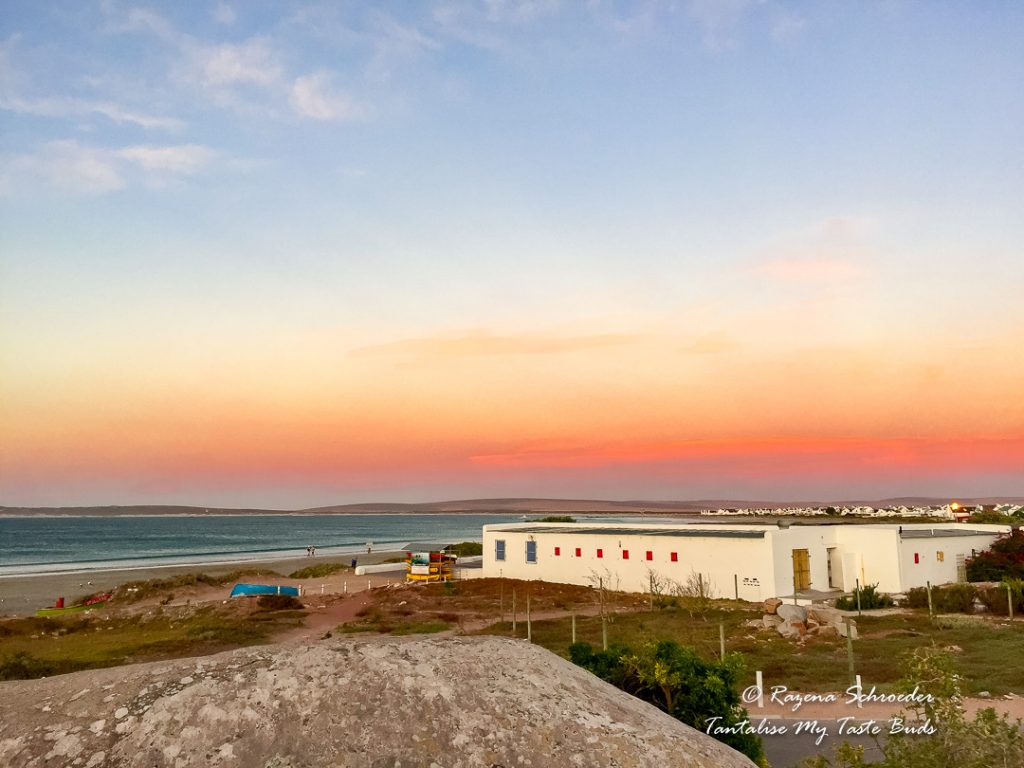 Paternoster at sunset