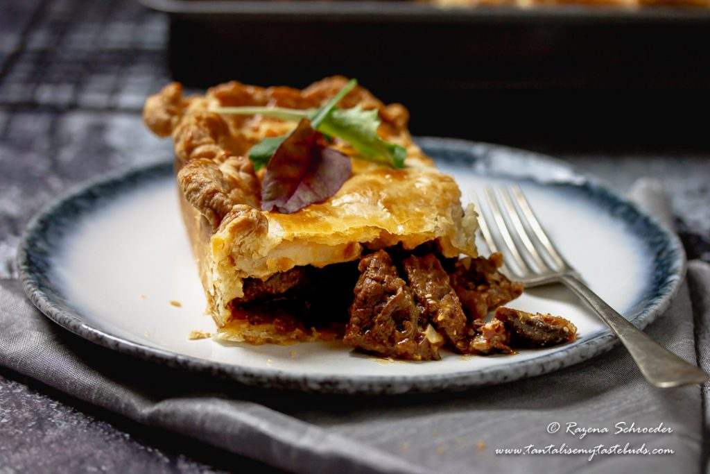 Cape Malay Pepper Steak Pie
