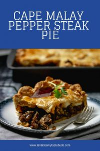 Cape Malay Pepper Steak Pie pin
