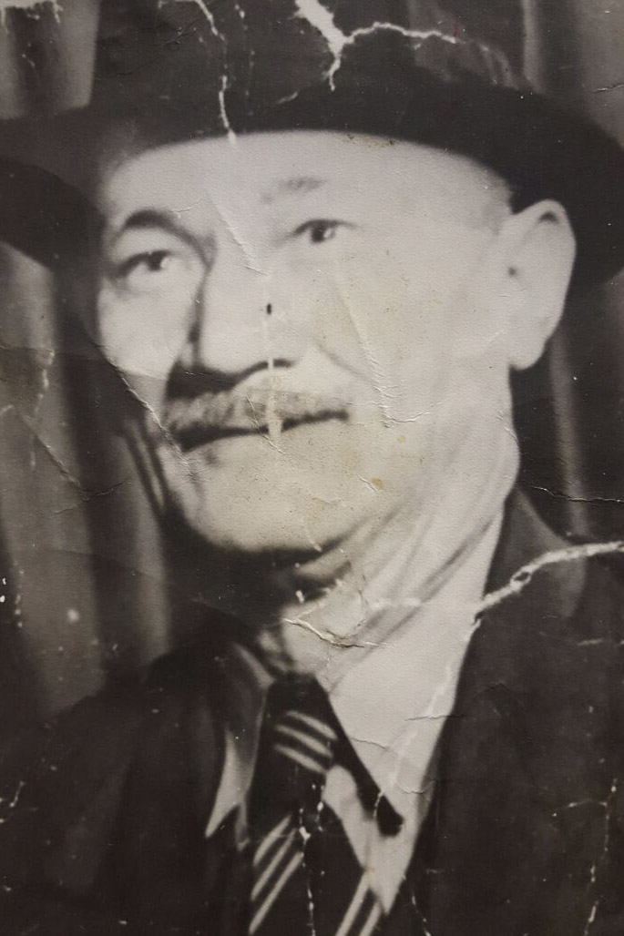 Maternal great-grandfather Papi Heugh