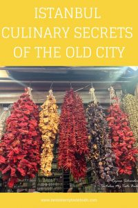 Culinary Secrets of the Old City pin