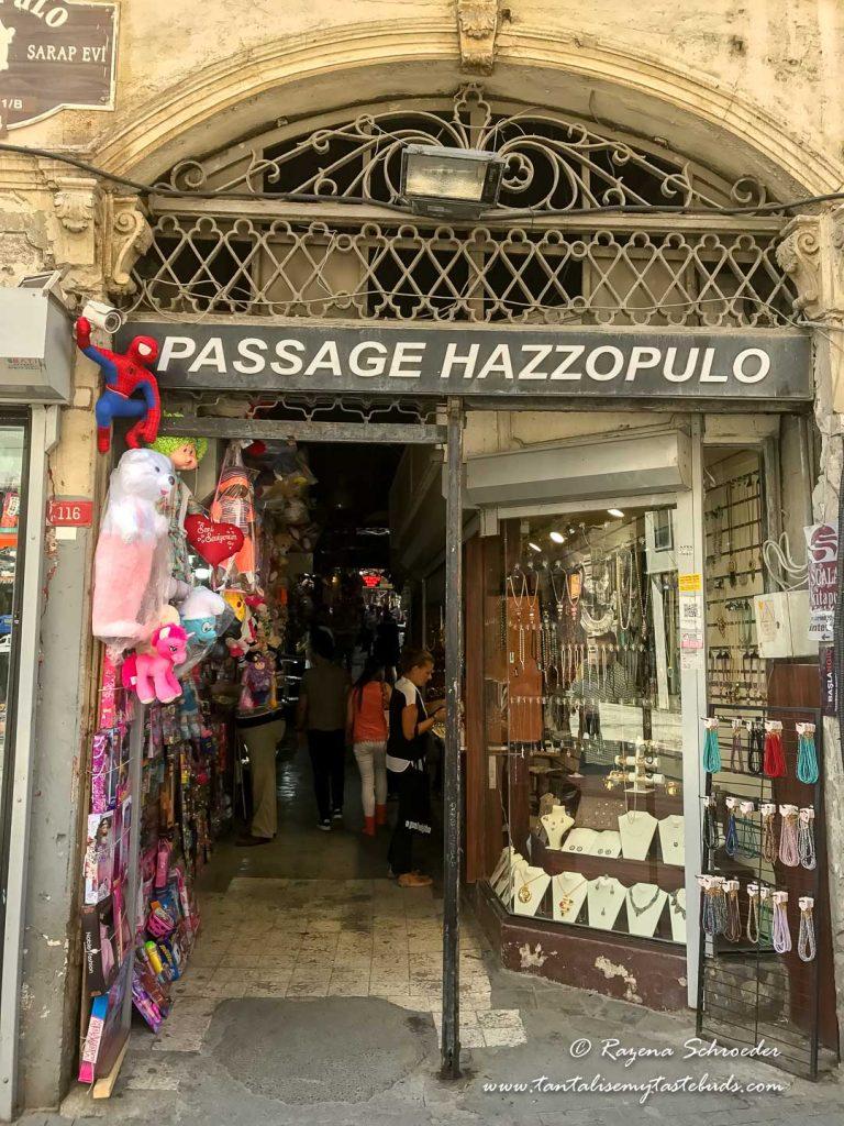 Passage Hazzopulo Istiklal Cadesi