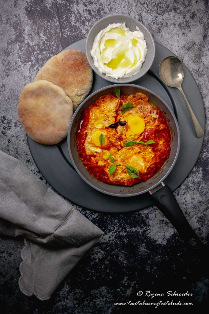 Ottolenghi's Shakshuka dinner for two