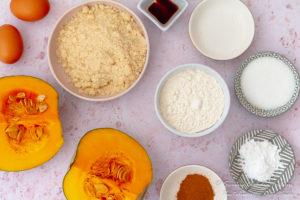 Cape Malay Mashed Pumpkin fritters recipe (Pampoen koekies) ingredients