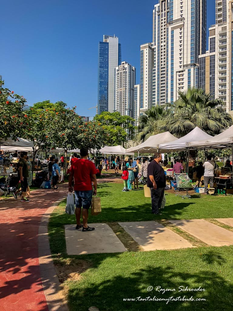Dubai Farmer's Market on the Terrace