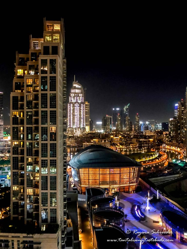 Dubai puBest time to visit Dubai Opera House view from Loft Apartments West