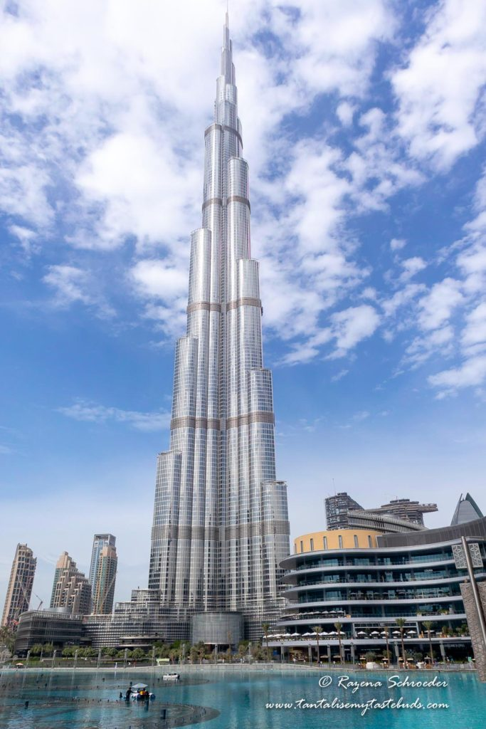 Where to Stay in Dubai - Burj Khalifa in profile