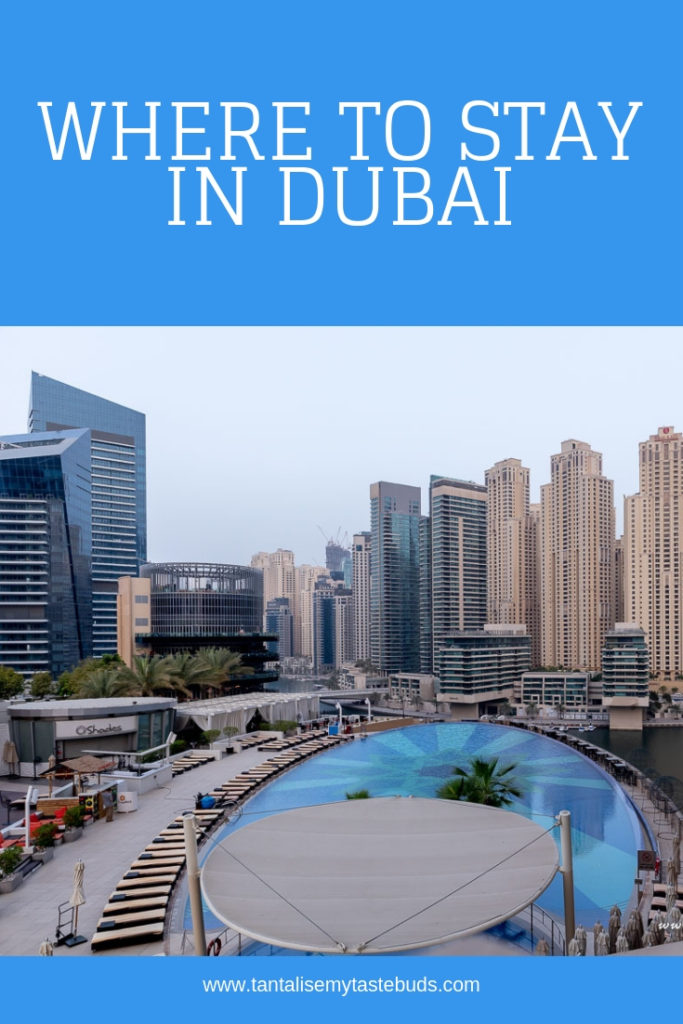 Where to stay in Dubai - Dubai Marina