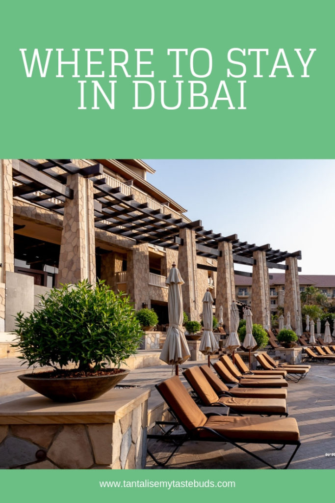 Where to stay in Dubai - Palm Jumeirah