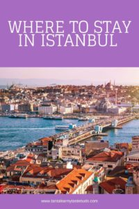 Where to stay in Istanbul with this city view