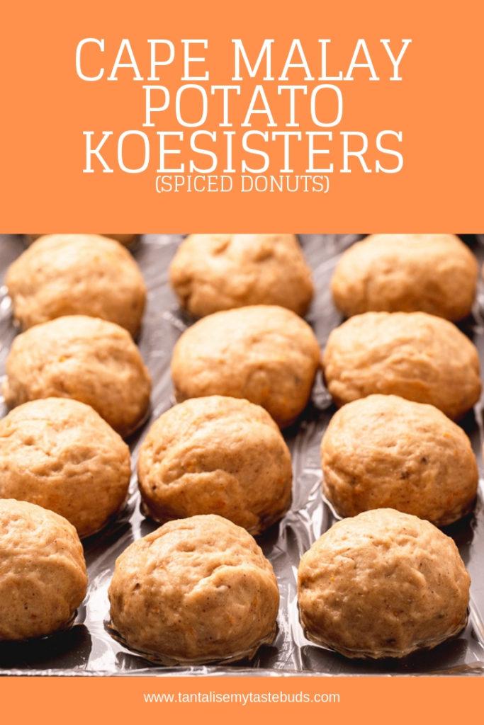 Cape Malay Potato Koesister recipe pin 2