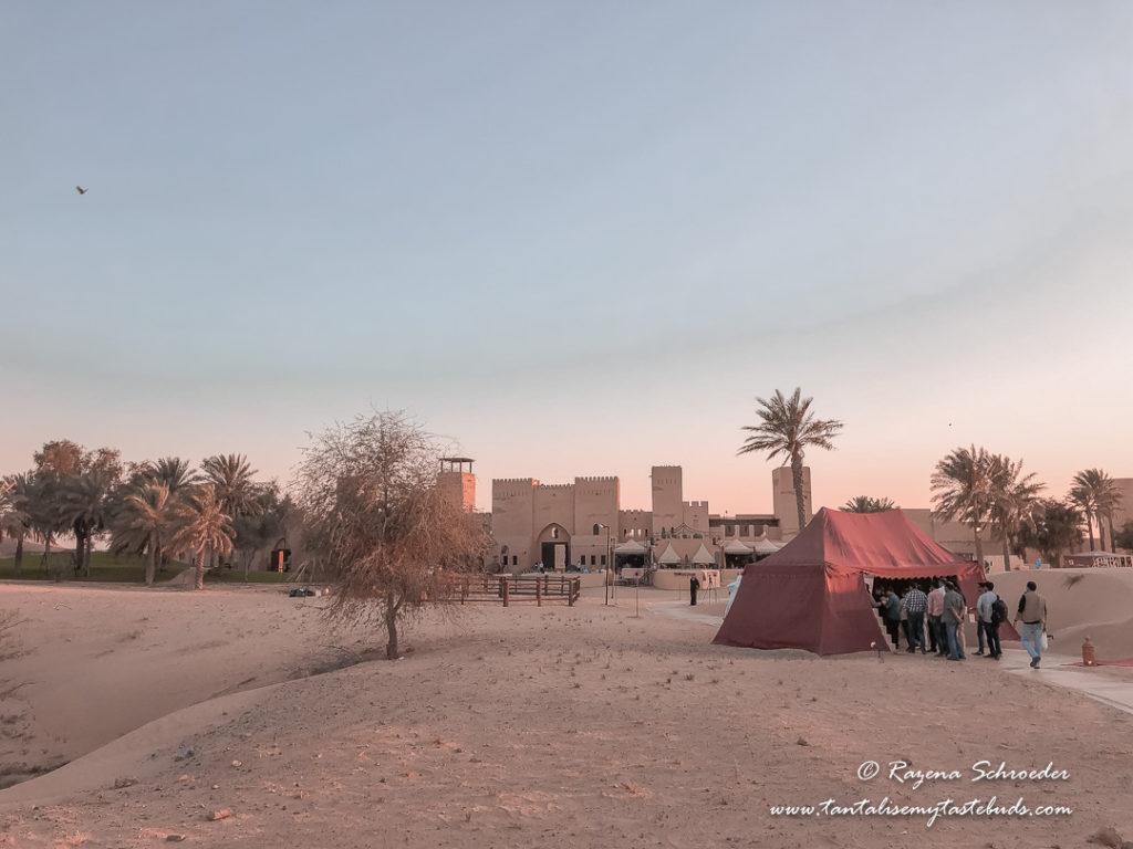 Desert safari welcome tent