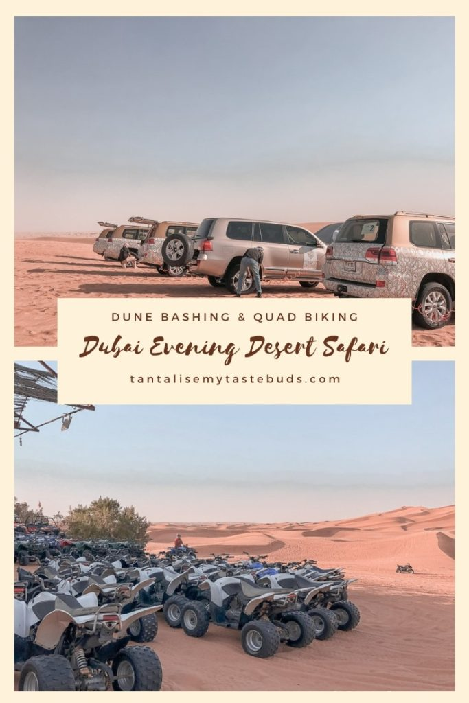 Luxury Dubai Evening Desert Safari pin1