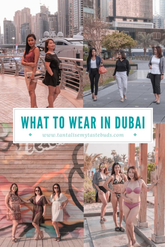 What to wear in Dubai for the beach