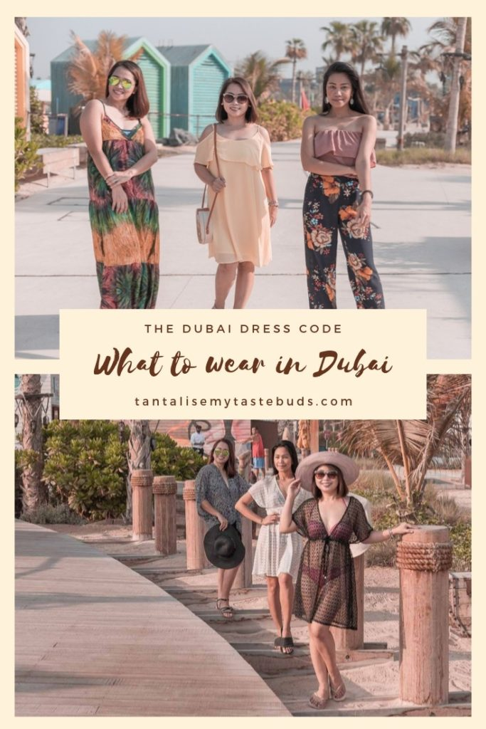 What to wear in Dubai at leisure