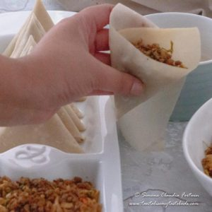 How to wrap samosa 4